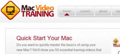 Mac Video Training